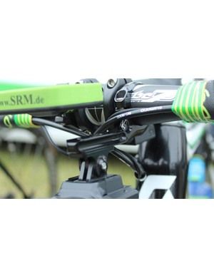 Small American company K-Edge provided the adjustable metal mounts for the teams