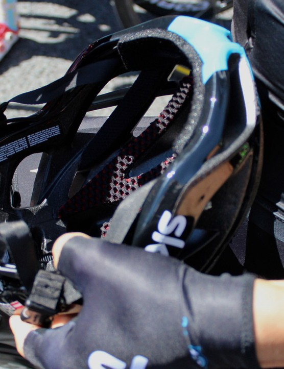The Protone uses Kask's Octo Fit Adjustment system