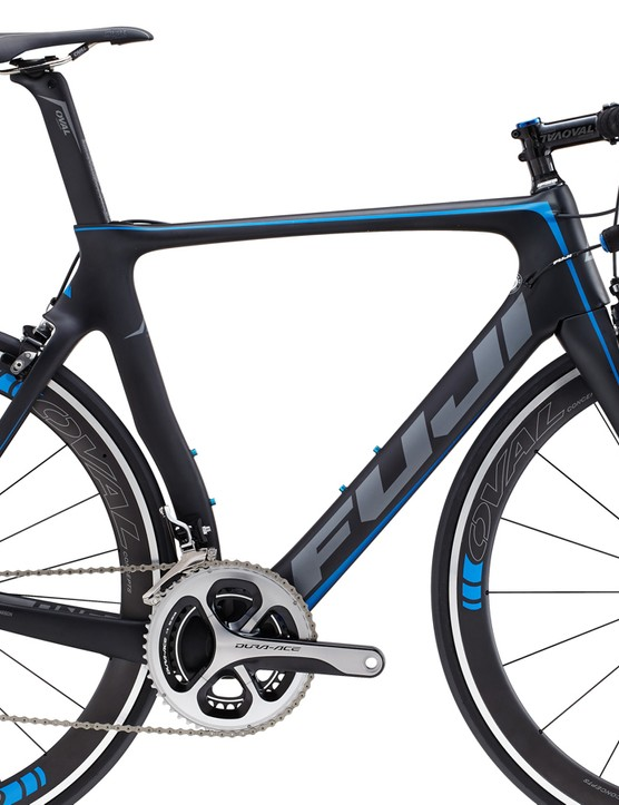 Fuji's Transonic 1.3 offers a Dura-ace mechanical groupset for a price of US$4,699/€4,299/£3400