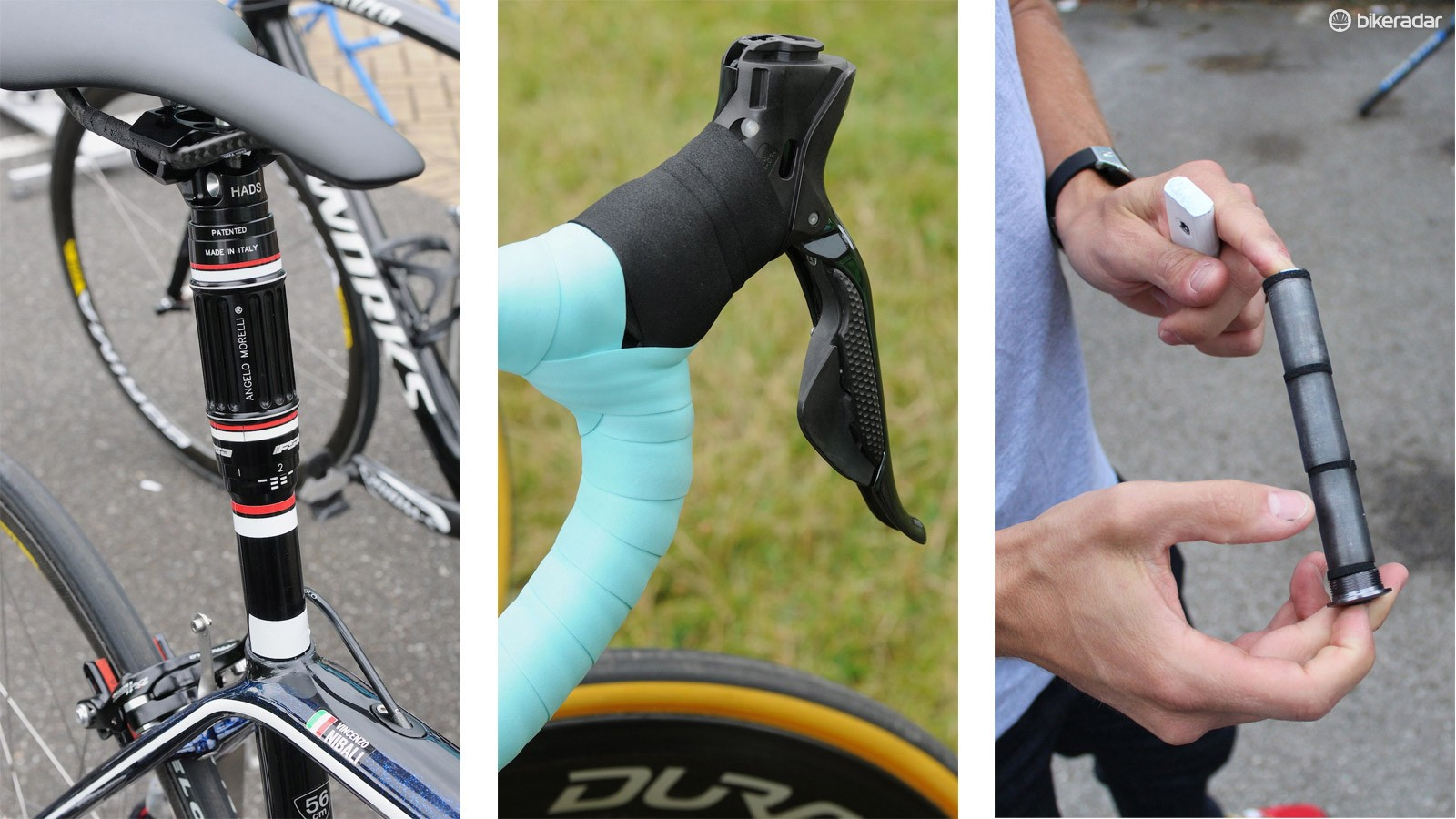 You see all sorts of innovative - if not necessarily polished - innovations at the Tour de France