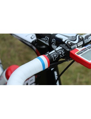 Arnaud Démare's immaculate bar tape