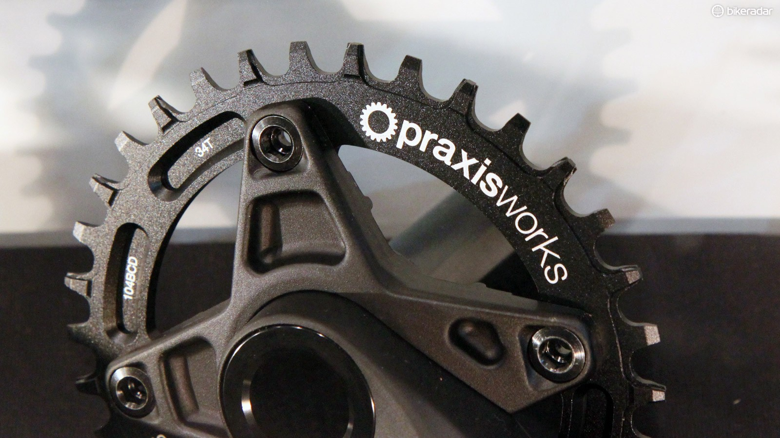 Praxis Works has finally released its long-awaited Wide/Narrow chainrings for 1x mountain bike drivetrains