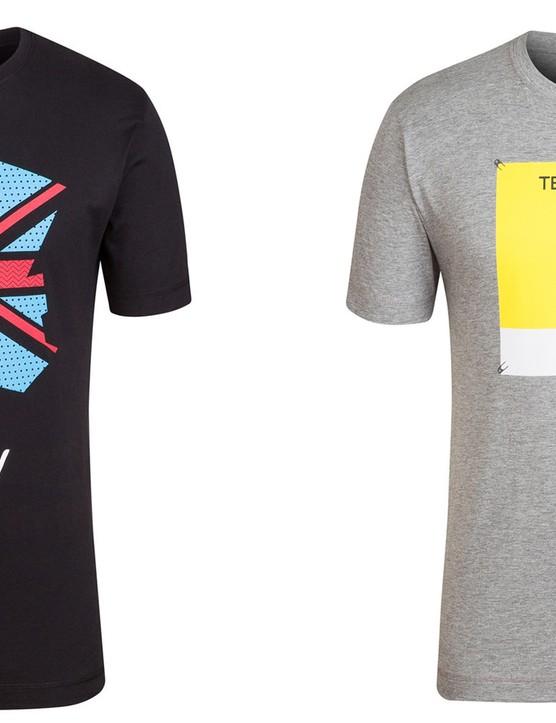 Rapha has four new T-Shirts for the Tour de France