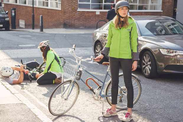 The St John Ambulance aims to equip cyclists with the skills they need to deal with an accident
