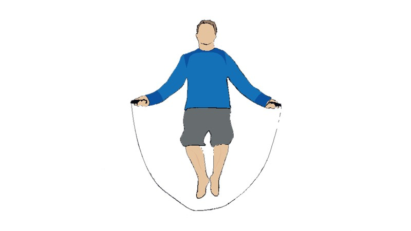 Skipping will help develop muscular endurance in the calves and shoulders, as well as being a good cardiovascular workout