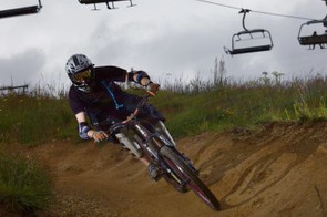 It's a short hop from chair lift to full-throttle riding