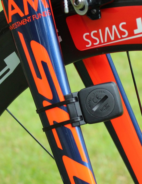 Despite the bike industry's push towards integration and internal routing, zip ties are still in wide use for sensors