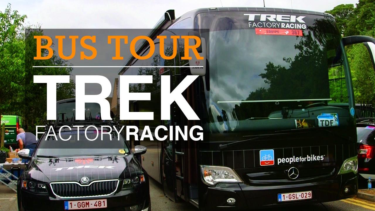 Trek Factory Racing bus tour