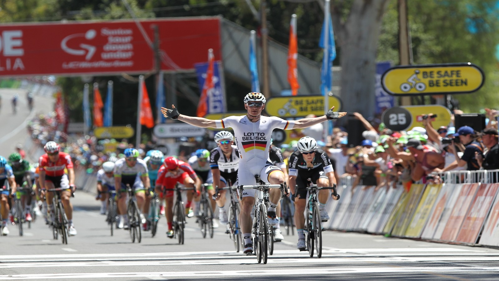 The Santos Tour Down Under will continue as a WorldTour event for atleast another two years