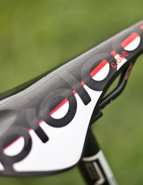 This full carbon Prologo saddle offers little comfort