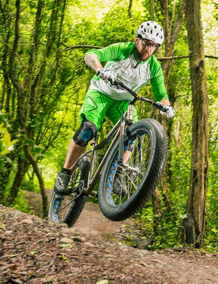 The Fat Race is surprisingly light and playful - not what you might expect from a fat bike