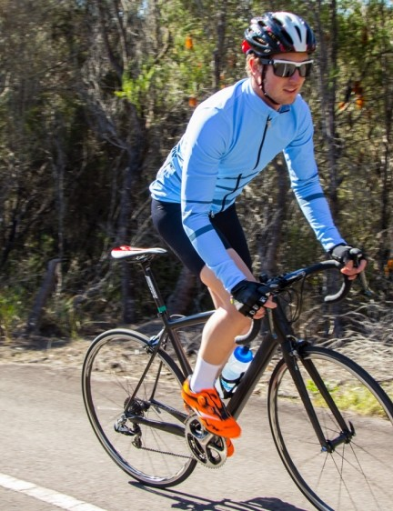 Coming in well under the UCI mandated 6.8kg the BH Ultralight excels when the road goes up