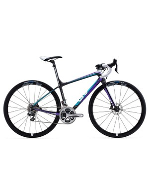 Women get their own version of the top-end flagship called the Avail Advanced SL 0, complete with a specific frame shape, carbon lay-up, and componentry but with the same Shimano Dura-Ace Di2 9070 group