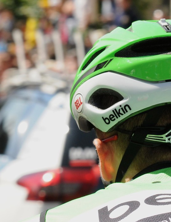 Although the visual focus is often on the front, the rear shape of a helmet plays a big role in aerodynamics