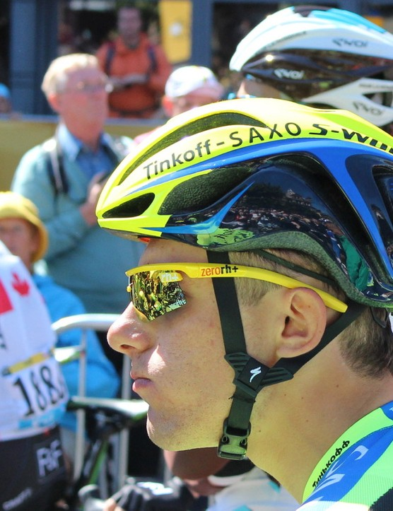Specialized sponsors three Tour teams with helmets, including Tinkoff-Saxo
