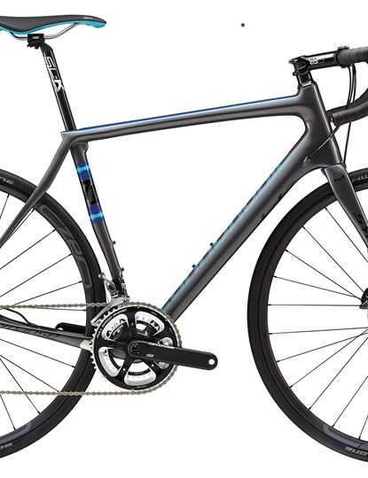 The 2015 the Synapse Carbon with Ultegra hydraulic discs is aiming for the £2,500 price point
