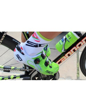 Sidi is also Peter Sagan's footwear of choice