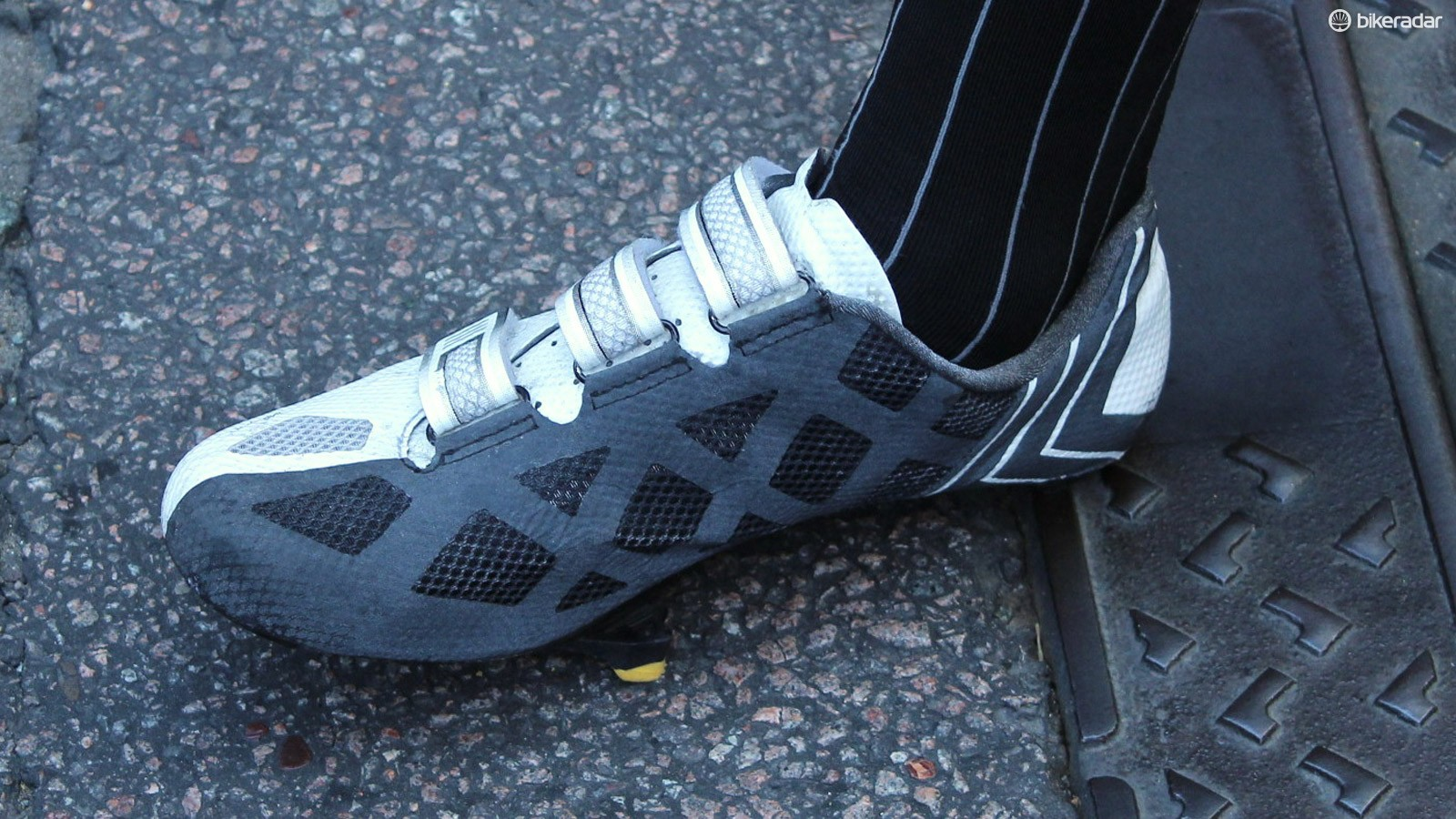 These are likely prototypes for a next-edition Bontrager XXX LE shoe