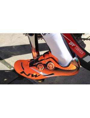Other IAM Cycling riders use Northwave (Italian) or Suplest (Swiss) shoes