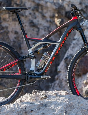 For 2015 Specialized will offer its aptly named Enduro in models with 29in (shown here) and 27.5in wheels