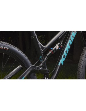 Super low standover height is one of the main benefits for the new Kona Process 134 SE