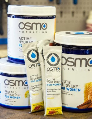 Osmo Nutrition has a full line of products designed specifically for women