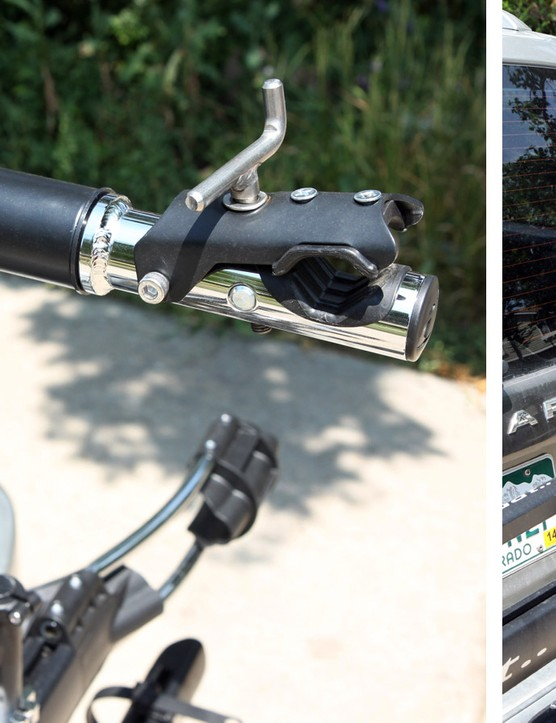 The Küat NV cleverly incorporates a repair stand into the base