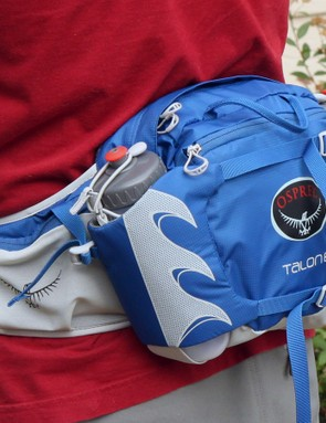 The Osprey Talon 6 is aimed at mountain bikers who need to carry some extra gear but don't want to wear a traditional hydration pack