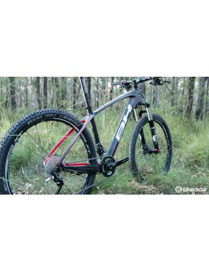 The BH Ultimate RC 27.5 frame was the undoubted highlight of our Australian sample
