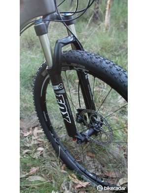 Fox's Float Evolution CTD fork works extremely well, but we'd expect a few more features on a bike of this price