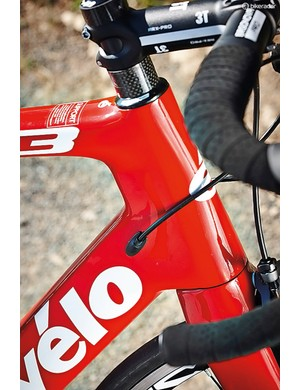 The frame can handle mechanical, electronic or hydraulic cabling