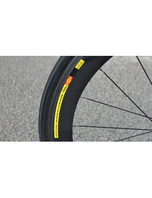 Mavic Cosmic CXR 60 tubular wheels