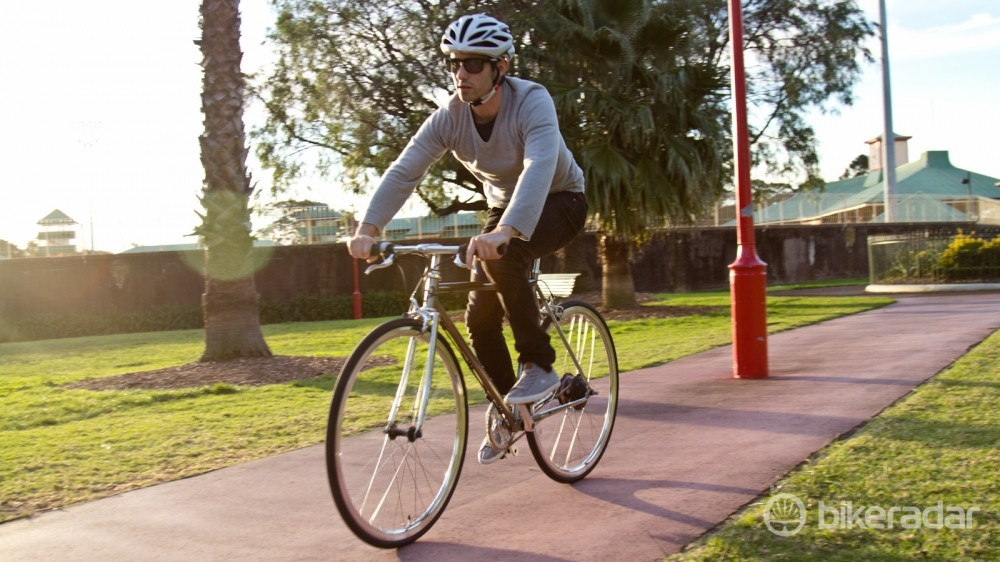 This isn't a bike to get into the Lycra for – the Chappelli is a stylish way to get around town