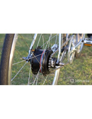 By using an internal geared hub, Chappelli maintains classic singlespeed looks and reliability