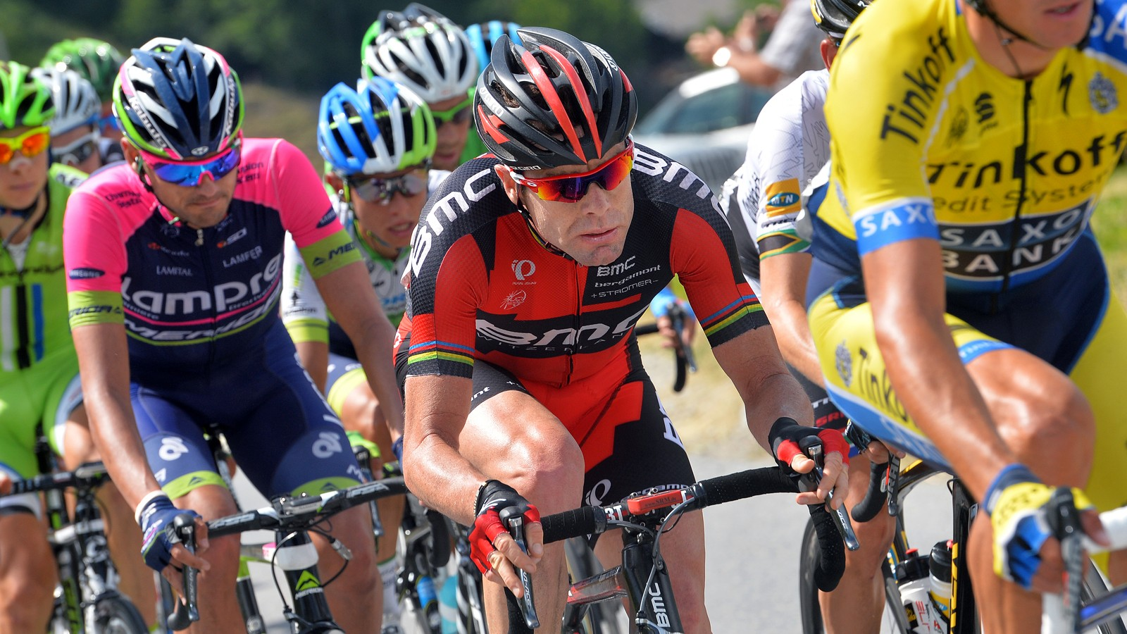 Cadel Evans at the 78th Tour of Swiss 2014 / Stage 9