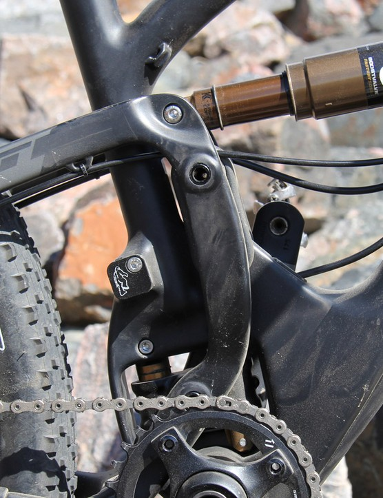 The SB5c's suspension arangement doesn't look that dissimilar from the company's Switch-equipped models...