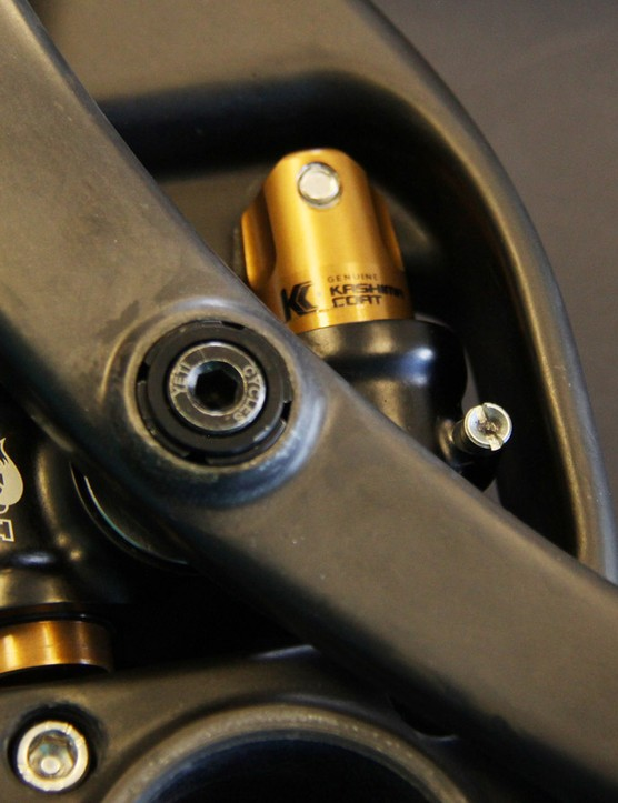 ...aside from these Kashima-coated tubes above the bottom bracket