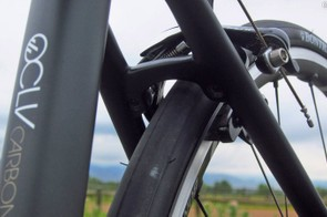 Direct-mount brakes are used front and rear. Before you cast off the idea as