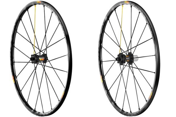 The redesigned Crossmax SL is the lightest mountain bike wheelset in Mavic's line