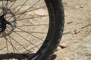 Our test bike was equipped with ENVE's new M60 carbon wheels