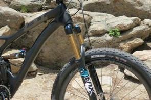 The SB5c is designed around a 140mm Fox 34 fork
