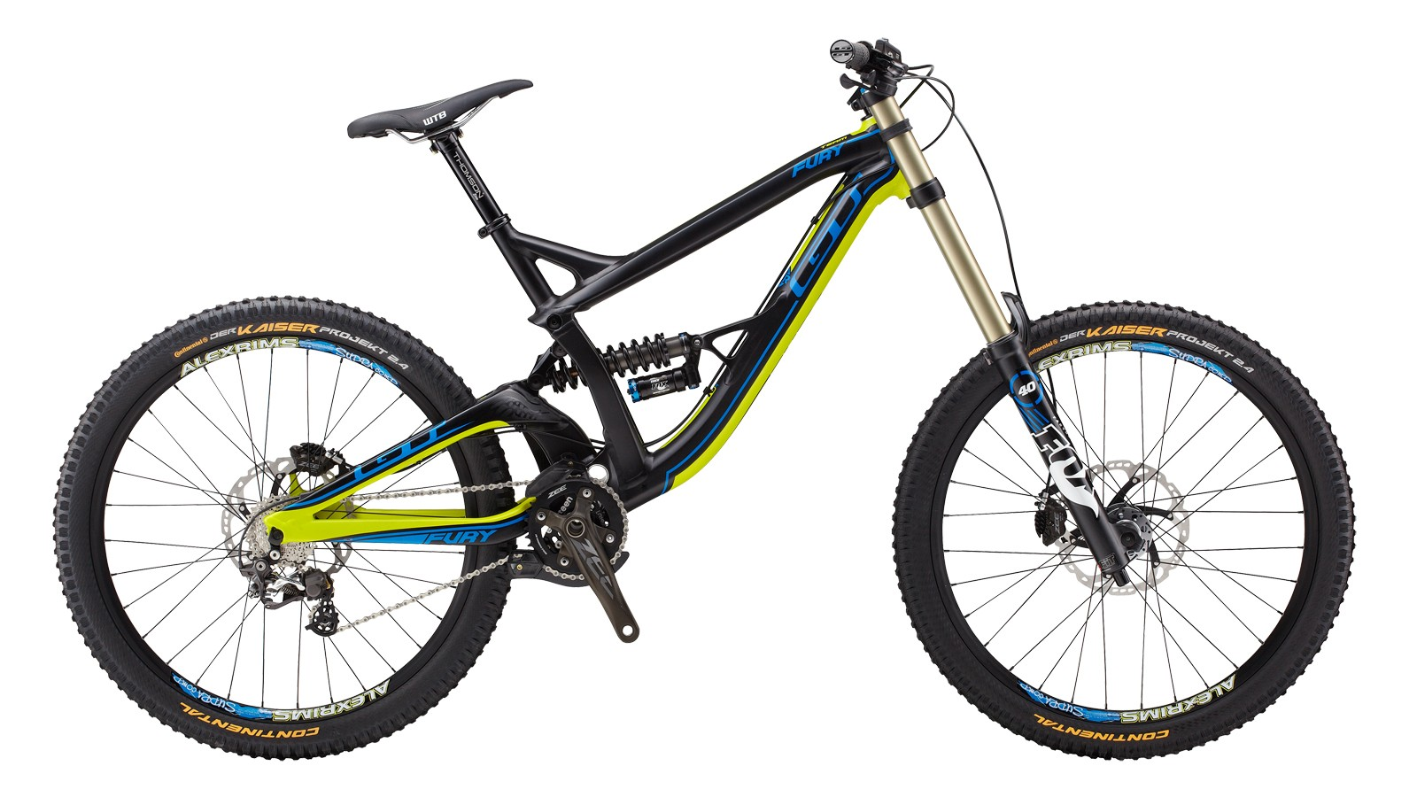The recalled Fury Team model is black with lime green and blue accents
