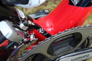The latest K-Edge chain catcher is a partnership with power-meter company SRM