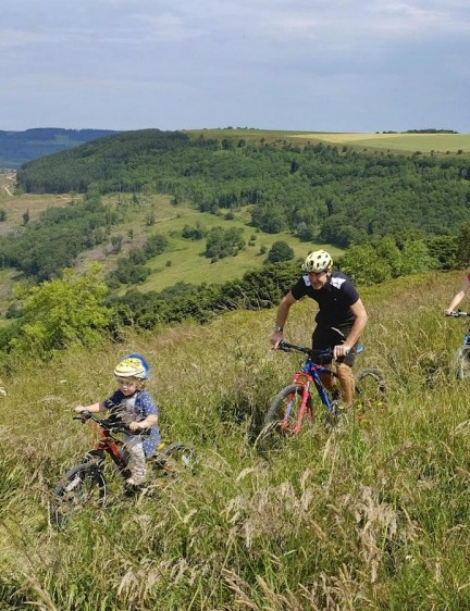 The new Sutton Bank trails are designed for riders of all abilities