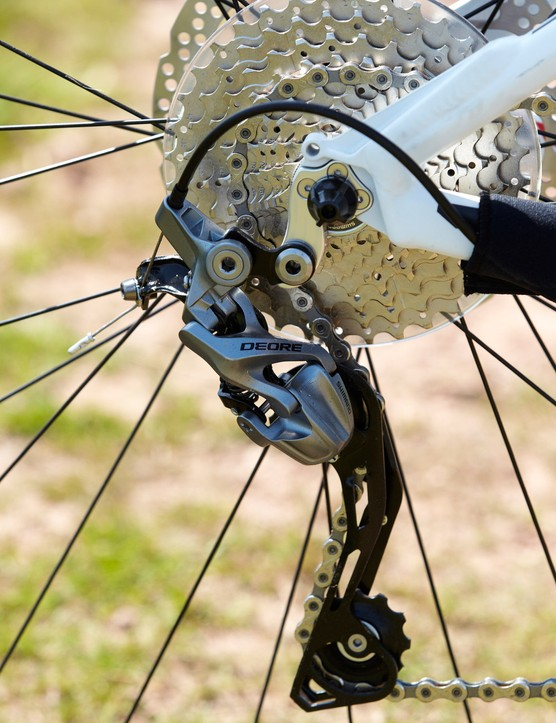 Shimano's Deore groupset offers function not too far removed from the range-topping XTR, but at a fraction of the price. Good news for your wallet