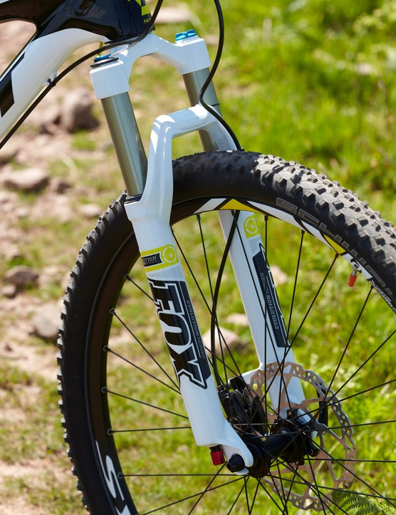 Fox's 32 Float CTD Evolution fork is a competent performer