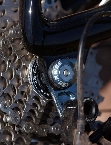 Which Big S: SRAM or Shimano? Both work well, but our experience is that, for 10-speed transmissions, Shimano has the edge on durability