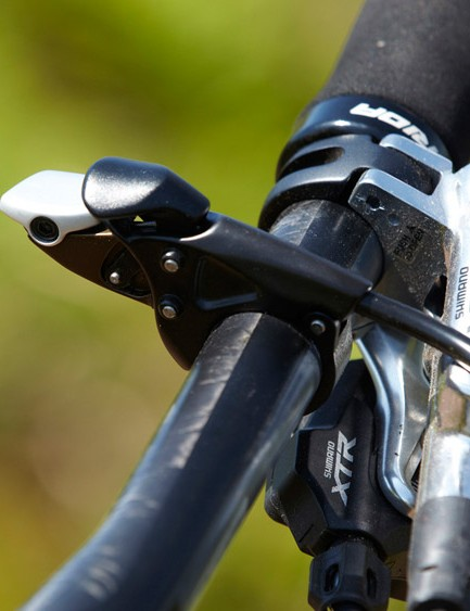 XTR's smooth and predictable shifters and brake levers save precious rider energy by reducing the effort needed to change gear or scrub off speed