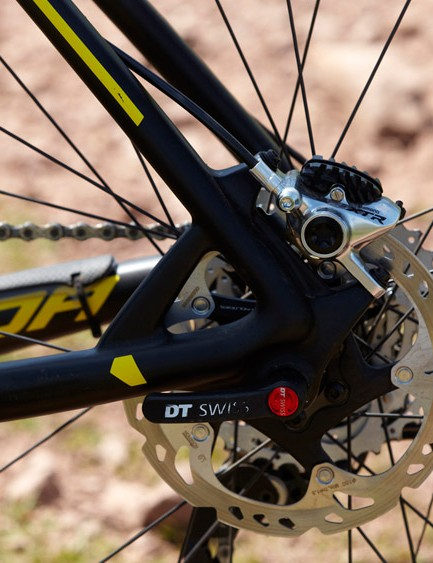 Much of the Big.Nine CF5000's cost is tied up in that XTR groupset –whether that's justifiable is a matter for personal choice