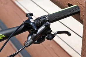 Shimano brakes are used heavily throughout Scott's 2015 mountain bike range